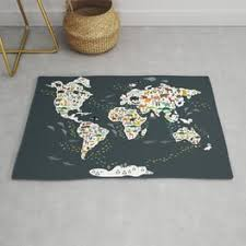 Continent Rugs For Any Room Or Decor Style Society6