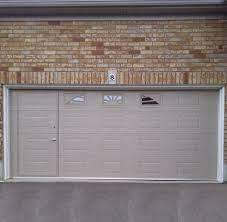 walkthru garage door