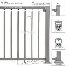 Aluminum Railing Rafab Incorporated Romulus Michigan