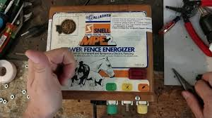 How To Test A Fence Energizer Gallagher Mpe2 Fence Energizer Repair Youtube