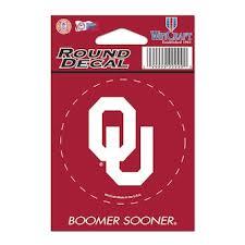 Oklahoma Car Decals Oklahoma Sooners Bumper Stickers Decals Fanatics