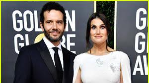 Idina Menzel's Husband Aaron Lohr Joins Her at Golden Globes 2020 ...