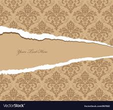 damask wallpaper royalty free vector image