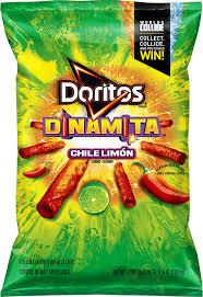 doritos dinamita chile limón flavored