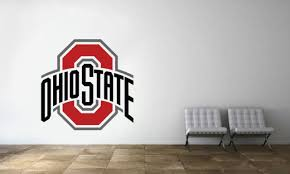 Fathead Ohio State Buckeyes Logo Giant Removable Wall Decal For Sale Online Ebay