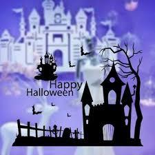 Huis Spooky Halloween Castle Scary Gothic Vinyl Decal Sticker Car Window Wall Art Muurversieringen Stickers Thinkinganglicans Org Uk