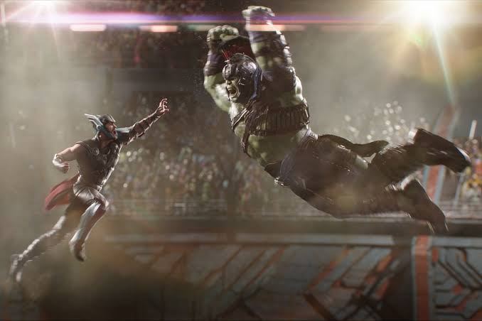 Lightsabers added to Hulk VS Thor Fight