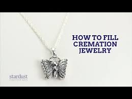 how to fill cremation jewelry