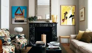 fireplace living room ideas without