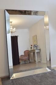 extra large wall mirror with metal