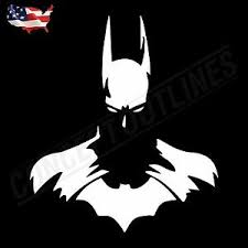 Batman Silhouette Superman Vs Batman Premium Decal Sticker Phone Car Wall Laptop Ebay