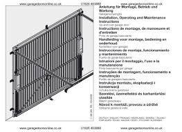 hormann n80 installation instructions