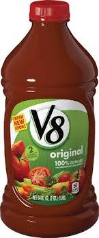 v8 100 vegetable juice original 64