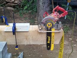 homemade beam saw