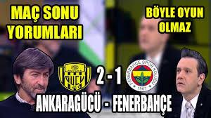 Ankaragücü - Fenerbahçe | Rıdvan Dilmen Maç Sonu Yorumları