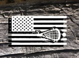 American Decal American Lacrosse Decal Lacrosse Decal Car Etsy American Flag Decal Flag Decal Window Stickers