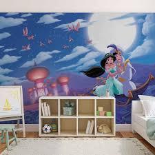 Disney Princesses Jasmine Aladdin Wall Paper Mural Buy At Europosters