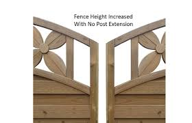 Intermediate Fence Post Extension Pressure Treated Cocklestorm Fencing Ltd