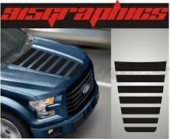 Vinyl Hood Decal Compatible With Ford F150 2015 2020 Truck Stripes Blackout Ebay