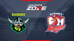 Canberra Raiders vs Sydney Roosters ...