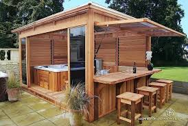 Louvered Hot Tub Spa Enclosure Flexfence Louver System