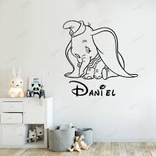 Dogs Wall Sticker 3d Removable Room Decal Creative Cute Theme Wall Decal For Kids Bedroom Toilet Kitchen Offices Funny Cartoon Yellow D 2 Pcs Wall Stickers Murals