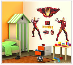Diy Iron Man Removable Wall Sticker Kids Room Wall Decor Superhero Wall Decals For Boys Room Home Decoration Mural Wall Stickers Music Wall Decals From Jy9146 2 92 Dhgate Com