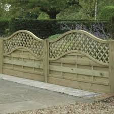 Wooden Fence Panel Arch Lattice Top Omega Free Delivery 50 Miles Boston Ebay