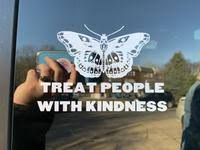 Treat People With Kindness Sticker Custom Crafts By Michelle