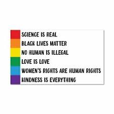 Lives Matter Sticker Equality Rainbow Lgbtq Colour Decal Bumper Car Ebay
