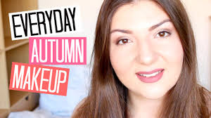 everyday autumn makeup 2016 lizzie