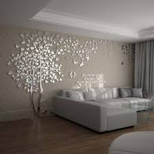 Wall Decals For Living Room Tree Acrylic Home Personalised Mirror Wallpaper Living Room Wall Decor Living Room Tree Wallpaper Living Room