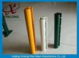 Xinlong Fence Post Accessories Square Fence Posts Pvc Coating Anti Corrosion