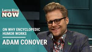 Comedian Adam Conover on Why Encyclopedic Humor Works - YouTube