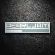 Sticker Pearl Jam Muraldecal Com
