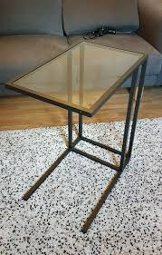ikea vittsjÖ laptop stand side table