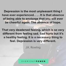 depression quotes inspirational sayings on feeling down