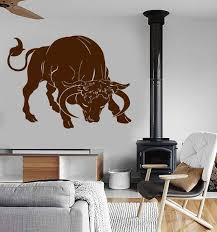 Animals Birds And Butterfles Wall Vinyl Decal Tagged Bull Riding Wallstickers4you