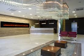 ambiance linear electric fireplace