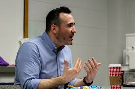 Central Michigan Life - Film critic Adam Graham returns to CMU to share his  career with students