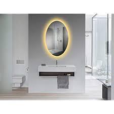 yukon oval wall mounted backlit led