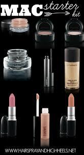 makeup starter kit mac hairspray and