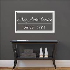 Cursive Custom Family Name Decal Family Home Wall Stickers Monogram Wall Appliques Names For Walls Trendy Wall Designs