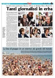 Visita dei ragazzi della Scuola d'Italia ad America Oggi e Radio ...