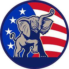 4in X 4in American Flag Republican Sticker Cup Decal Car Bumper Stickers Walmart Com Walmart Com