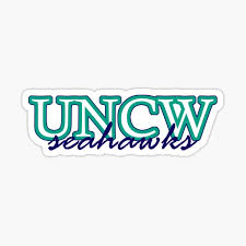 Uncw Stickers Redbubble