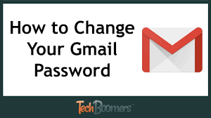 How to Change Your Gmail Password - YouTube