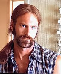Aaron Eckhart look so hot with long hair and a goatee   Long hair ...