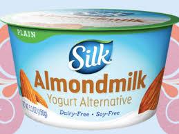 silk simply plain dairy free yogurt