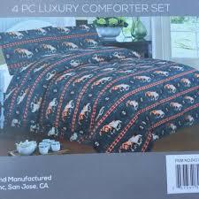 4 piece comforter set king size